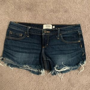 Abercrombie & Fitch Jean Short Shorts